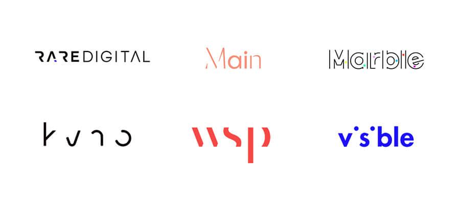 Destrucción de texto - Logos 2020