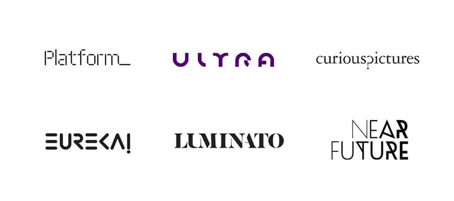 Fuentes inusuales - Logos 2020